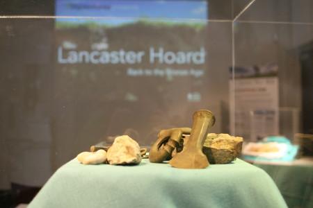 Splash - Lancaster Hoard Exhibition