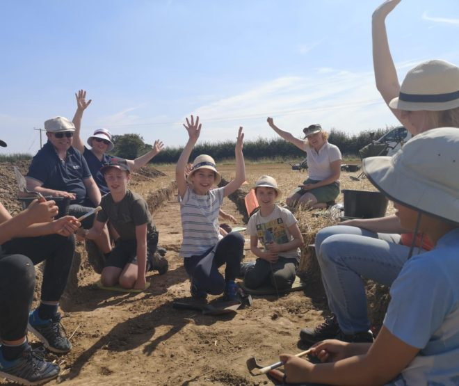 End of Dig Diary: Have We Found a Roman Villa?   Elmswell Farm