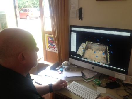 Hugh 3D model trench 9