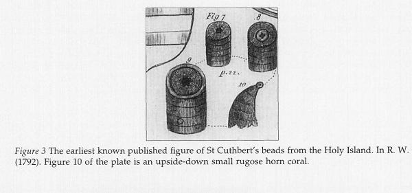 Earliest St Cuthbert's Bead
