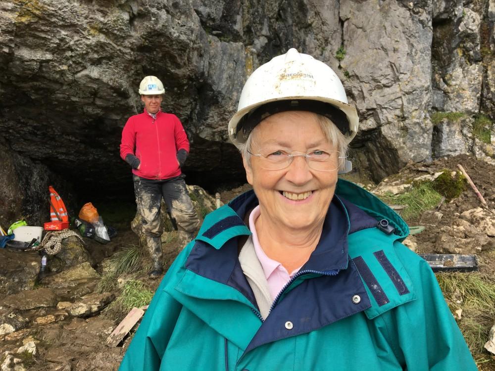 Ben Scar Cave Liz